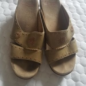 Dansko Leather Sandals size 39